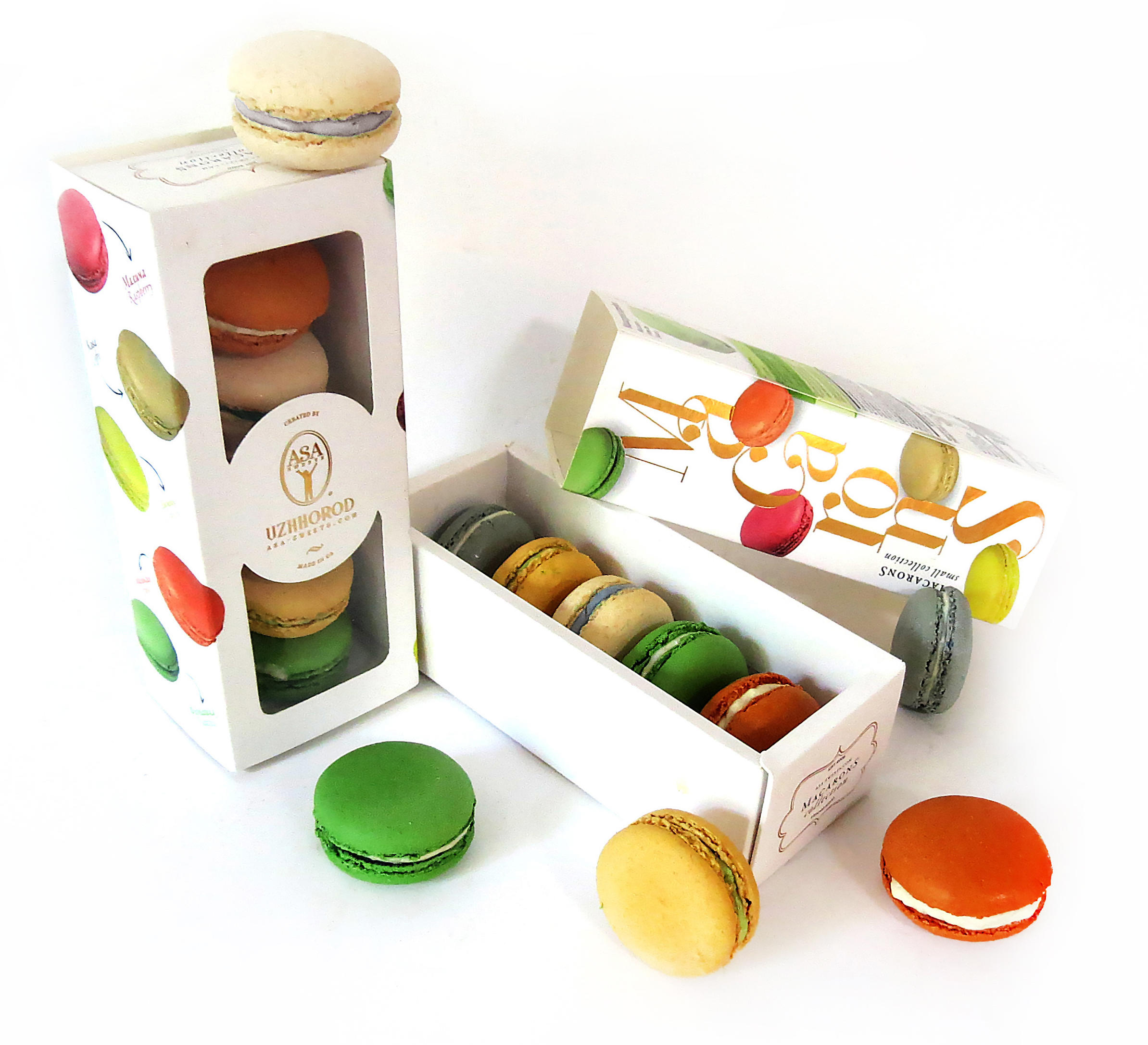 Macarons cheese collection
